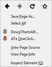 Firefox - View Page Info